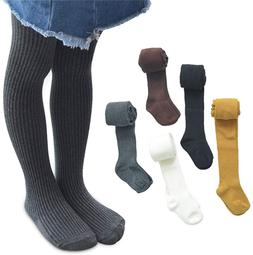 4 Pack Baby Toddler Girls Cotton Cable Knit Tights Pantyhose