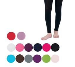 COUNTRY KIDS Microfiber Footless Ankle Tights Girls 1 to 14