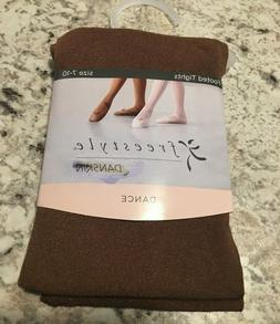 DANSKIN FREESTYLE Ballet Footed Tights- Size  ~ Cocoa