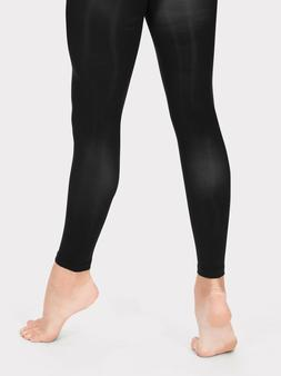 Kids Toddlers Girls Footless Black Dance tights age 2 3 4 5