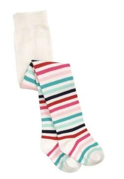 NWT Gymboree Arctic Pals Multi Striped Baby Girls Tights 0-6