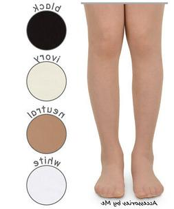 Pantyhose Neutral White Black Ivory Solid Tights Nylon Spand